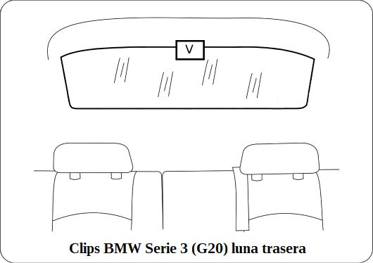 parasol a medida bmw serie 3 (g20)