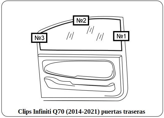 cortinilla a medida infiniti q70 (2014-2021)