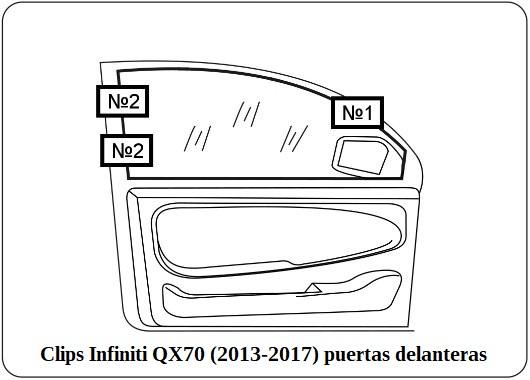 parasol a medida infiniti qx70 (2013-2017)
