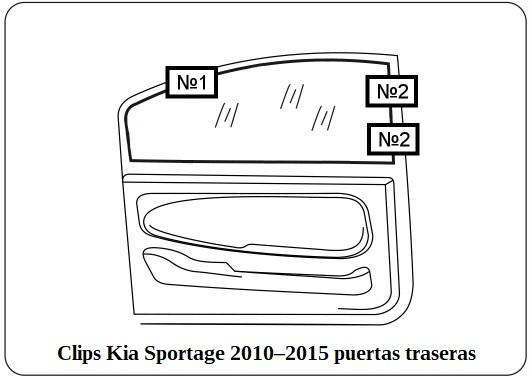 cortinilla a medida kia sportage 2010–2015