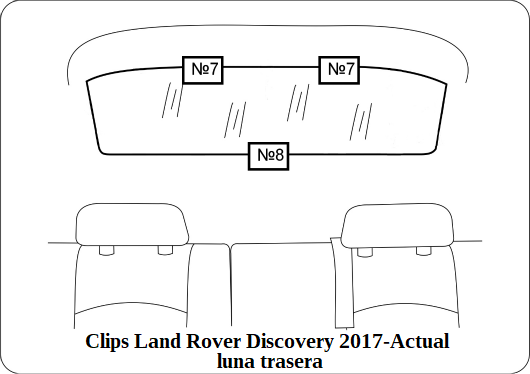 parasol a medida land rover discovery 2017-actual