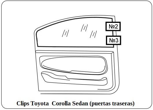 parasol a medida Toyota Corolla Sedan E210