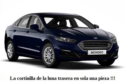 Ford Modeo 4 puertas 2019