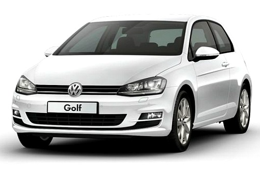 VW Golf 3p MK7 1