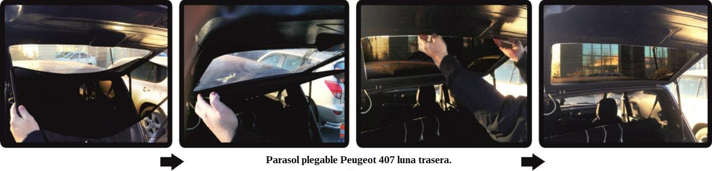 clips peugeot 407 sedan 2004 2010 luna trasera1
