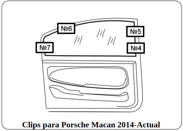 parasol cortinilla a medida porsche macan 2014-actual