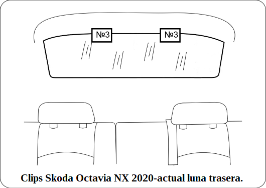 parasol a medida skoda octavia nx 2020-actual