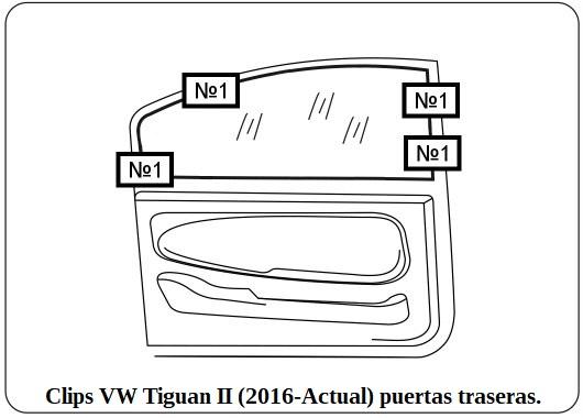 parasol a medida vw tiguan II (2016-Actual)